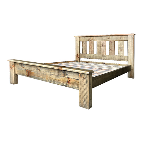 Drover Bedframe Ozzy Colour with Pole Legs