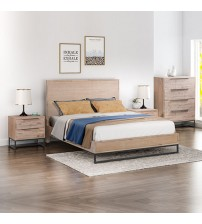 Hannah Multiple Size 4 pcs Bedroom Suite