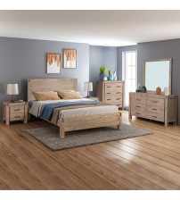 Java Bedroom Suite 5 pcs in Multiple Size in Oak Colour