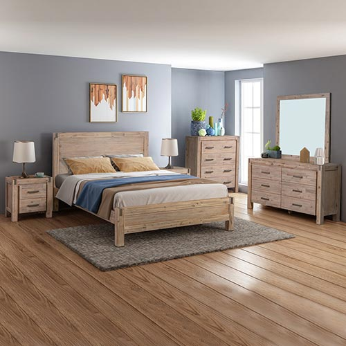 Java Bedroom Suite 5 pcs in Multiple Size & Colour