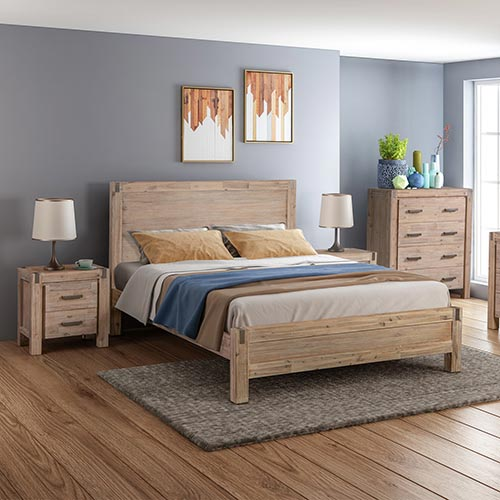 Java Bedroom Suite 4 pcs in Multiple Size & Colour