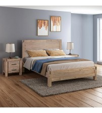 Java Bedroom Suite 3 pcs in Multiple Size In Oak Colour