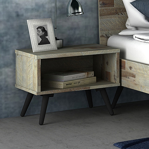 Altona Acacia Wood Bedside Table