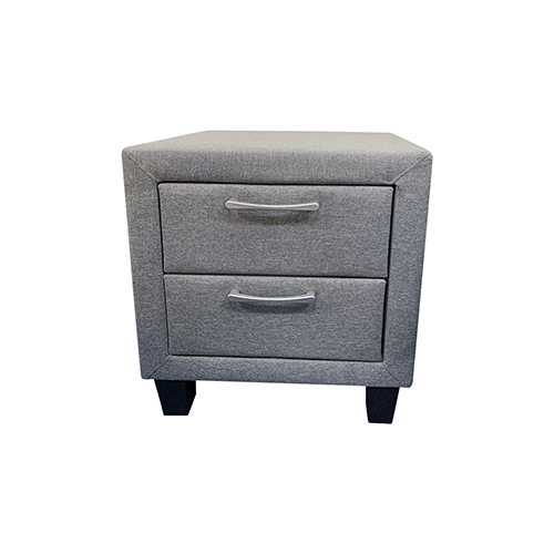 Megan 2 Drawers Bedside Table
