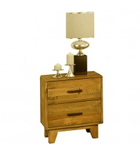 Woodstyle Light Brown Bedside Table