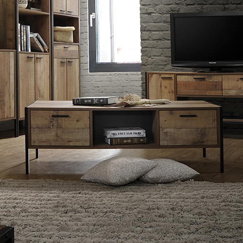 Mascot Coffee Table Oak Colour