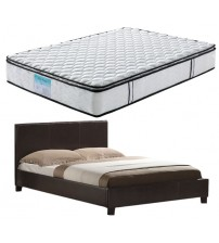 Mondeo Bed with Memory Pillowtop Mattress