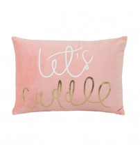 Stylish Foil Printing Fabric Cushion