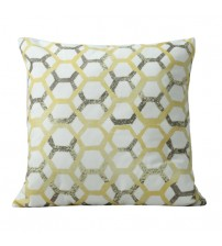 Fabric Cushion In hexagonal Shaped