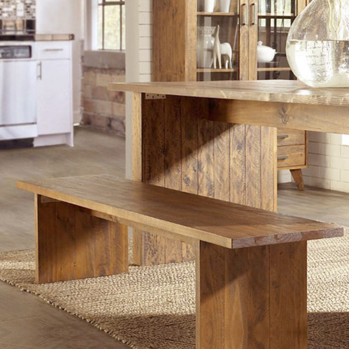 Cob&Co Bench Table Rustic Colour