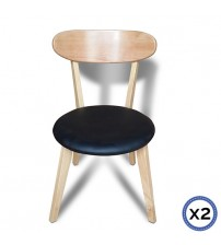 Modern ELSA Black dining Chair