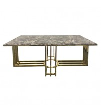 Daisy Faux Marble Mosaic Dining Set
