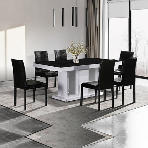 Buy Espresso Dining Table With 6x Chairs Online In Melbourne Australia