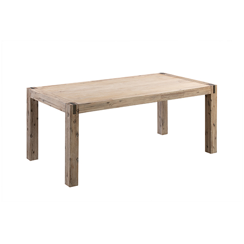 Java Oak Colour Medium Dining Table