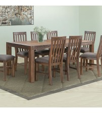 Nowra Solid Acacia Large Dining Set