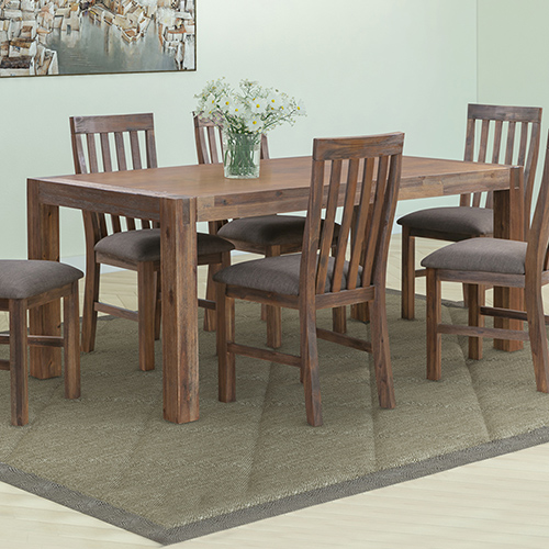 Nowra Solid Acacia Timber Dining Table in Multiple Size & Colour