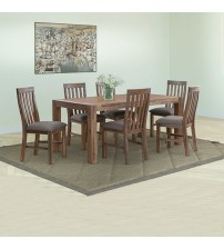 Nowra Dining Set in Fabric Seat Pad