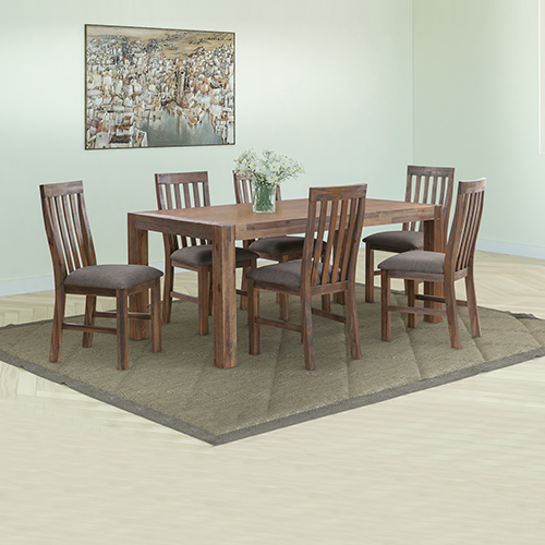 Nowra Medium Dining Table With 6X Chair
