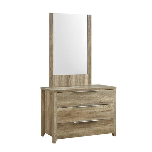 Cielo 3 Drawers Dresser Oak Colour