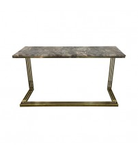 Hall Table Electroplating Titanium Gold Daisy
