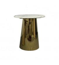 Lamp Table White Electroplating Titanium Gold Dove