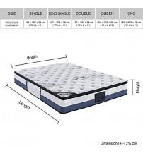 Brand New Latex Pillow Top 100% Natural Latex Layer Mattress