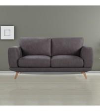 Modern Stylish Brown Alaska Sofa 2 Seater