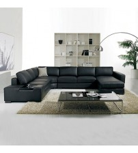 6 Seater Leather Sofa Diva