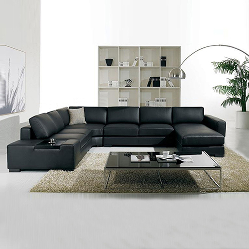 Diva 6 Seater Bonded Leather Sofa