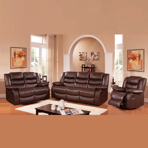 Dream Recliner Sofa Lounge Suite Leather Couch 3+2+1