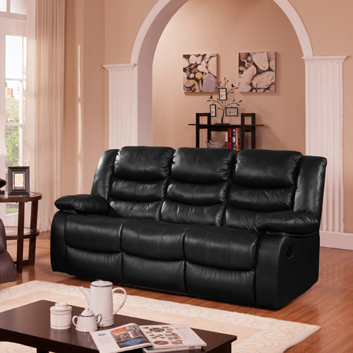 Dream Recliner Sofa Lounge Chair Bonded Leather Couch 3R