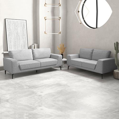 3+2 Seater Hopper Sofa in Linen Fabric