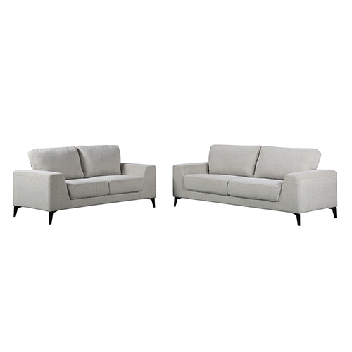 Hopper 3+2 Seater Sofa Light Grey Colour