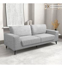 Hopper 3 Seater Sofa Light Grey Colour