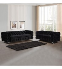 Jacques Black Colour 3S+2S Sofa