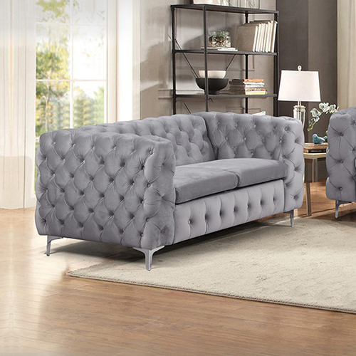 2 Seater Sofa Classic Button Tufted Lounge Jacques
