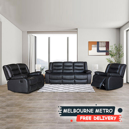 Fantasy Multiple Colour PU Leather Recliner 3R+2R+1R