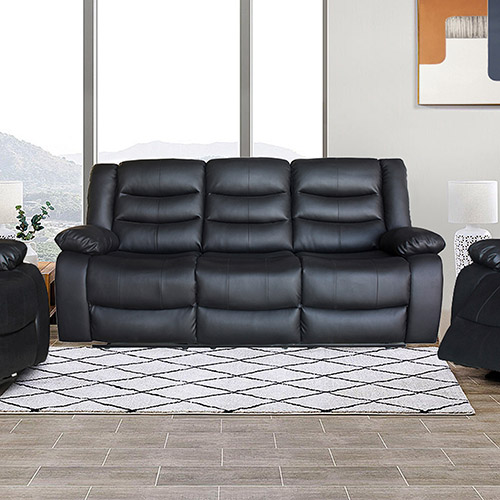 Fantasy Multiple Colour PU Leather Recliner 3R