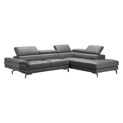 Vienna Dark Grey Corner Sofa