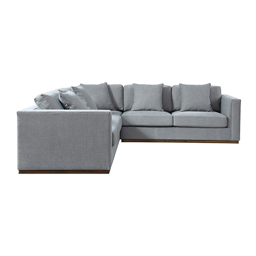 Webster 5 Seater Grey Colour Sofa