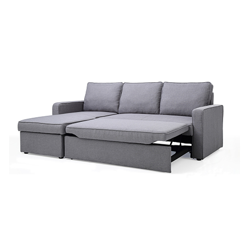 Yarra Corner Sofa Bed Grey