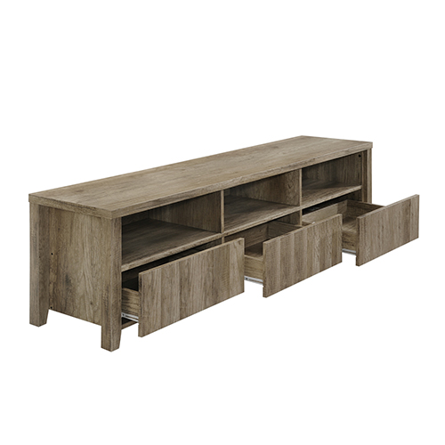 Alice TV Cabinet 3 Drawers Wooden Leg