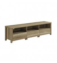 Cielo TV Cabinet 3 Drawers Wooden Leg