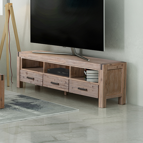 Java Oak Colour TV Cabinet