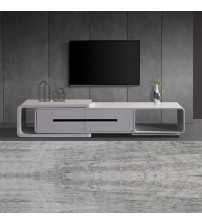 Majeston Shiny White Glossy TV Cabinet
