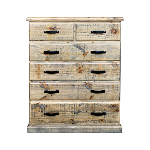 Drover 6 Drawers Tallboy Ozzy Colour