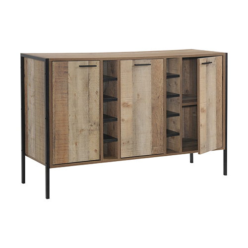 Mascot Wine Cabinet Oak Colour